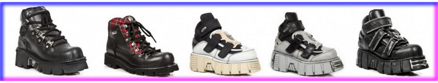 High-top shoes