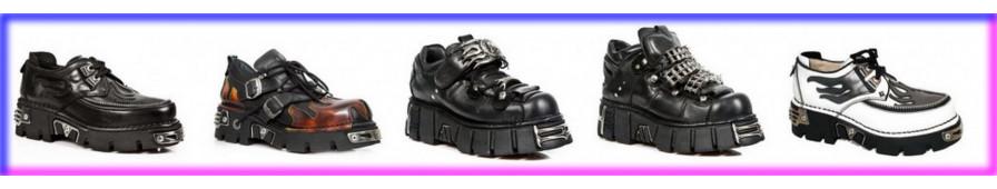 Zapatos de suela alta